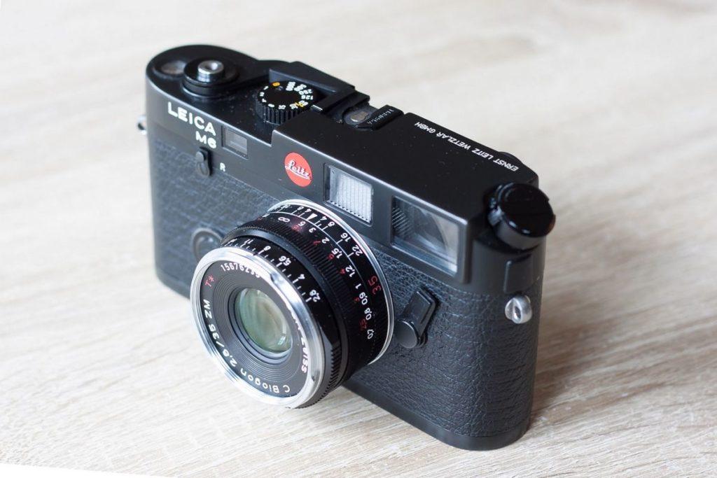 Leica M6 classic Zeiss ZM C Biogon 35mm 2.8