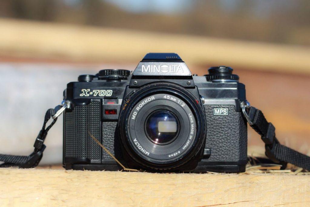 Minolta X-700 MD Rokkor 45mm 2.0