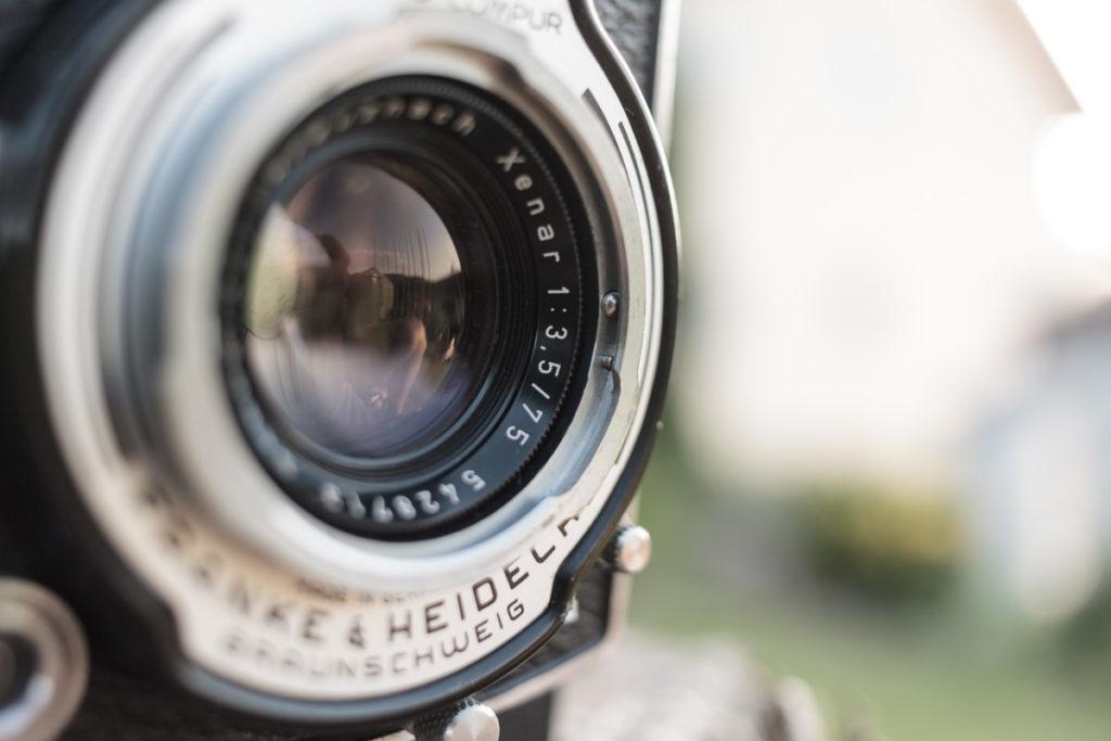 Rolleicord VA Franke & Heidecke, TLR, Twin Lens Reflex, Schneider, Xenar