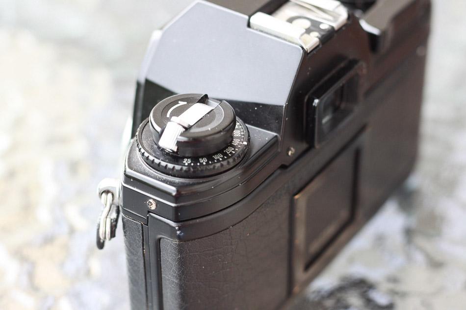 Wahlrad Nikon EM
