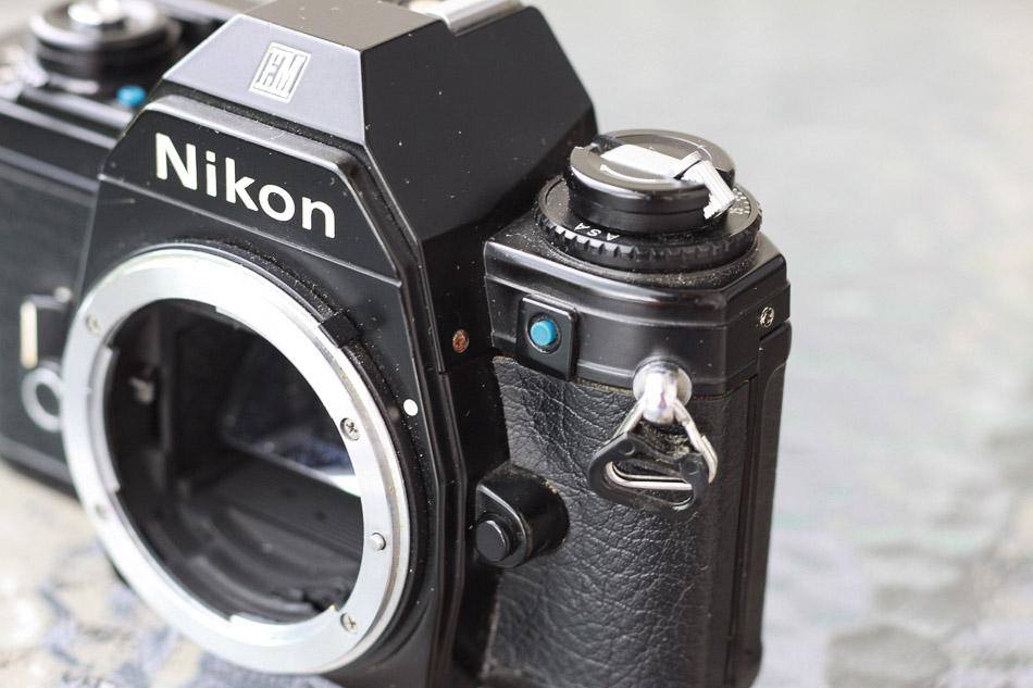 Gegenlichtknopf Nikon EM