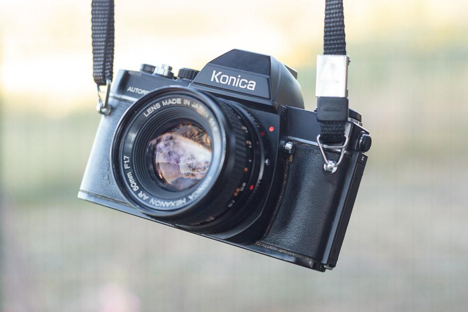 Konica Autoreflex TC mit Hexanon AR 50mm 1.7