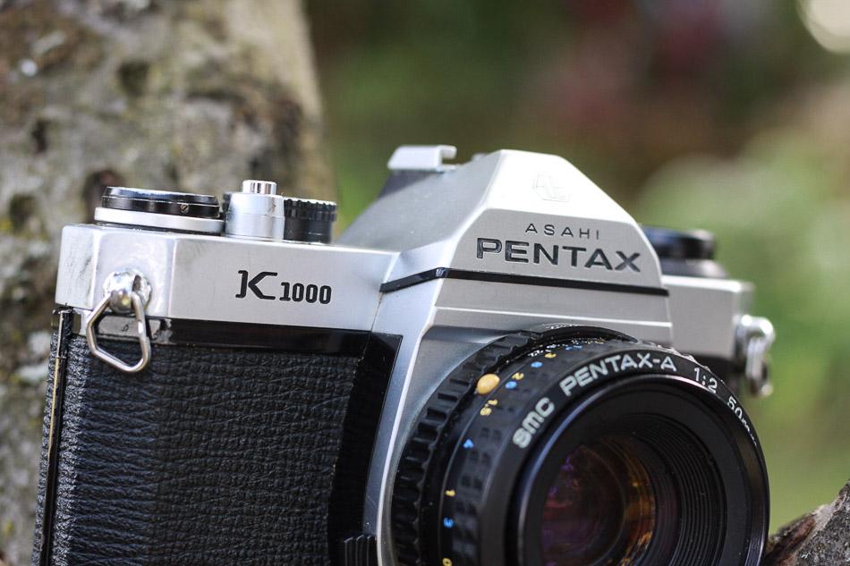 Schriftzug Pentax K1000