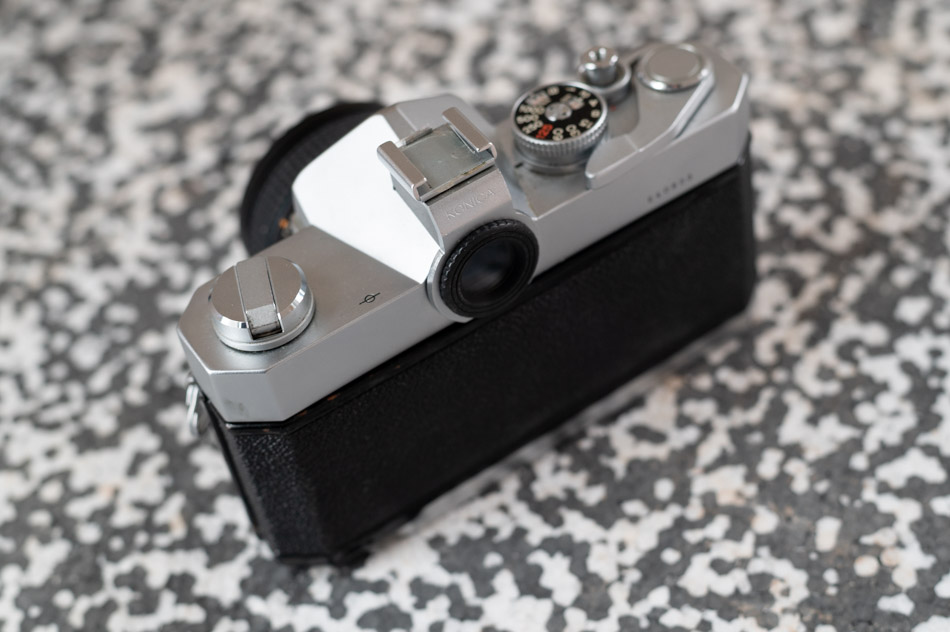 Konica Autoreflex T2 Sucher